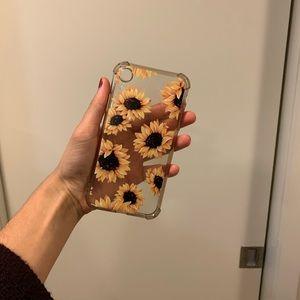 Sunflower iPhone XR Phone Case